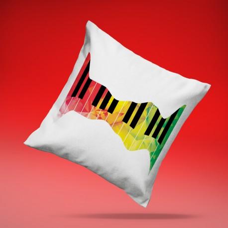 Cojín Piano de Colores